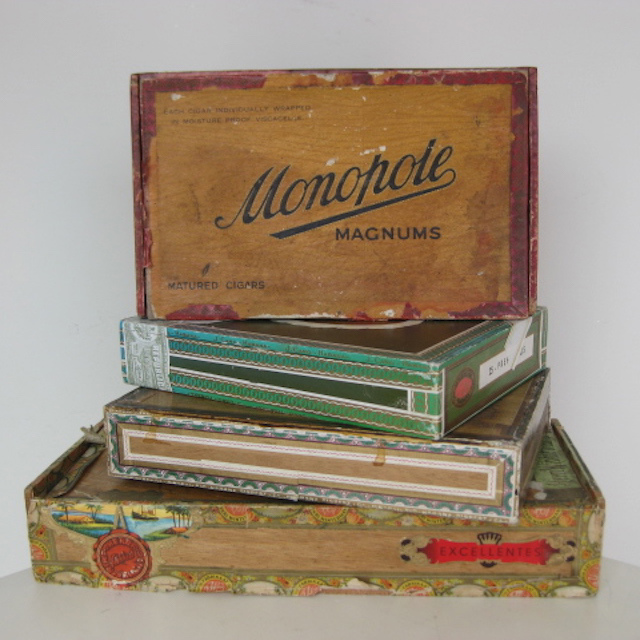 Selection of Cuban Cigar Boxes