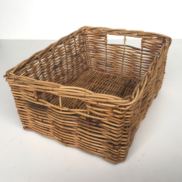 BAS0040 BASKET, Rectangular Storage 45x35x20cm $15