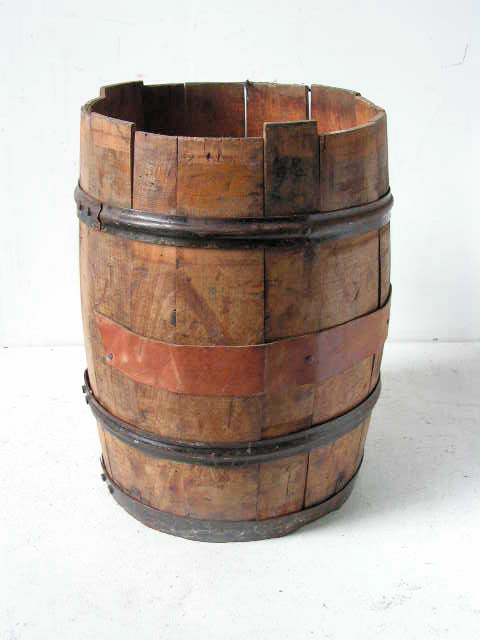 BAR0005 BARREL, Small - 40cm high $20