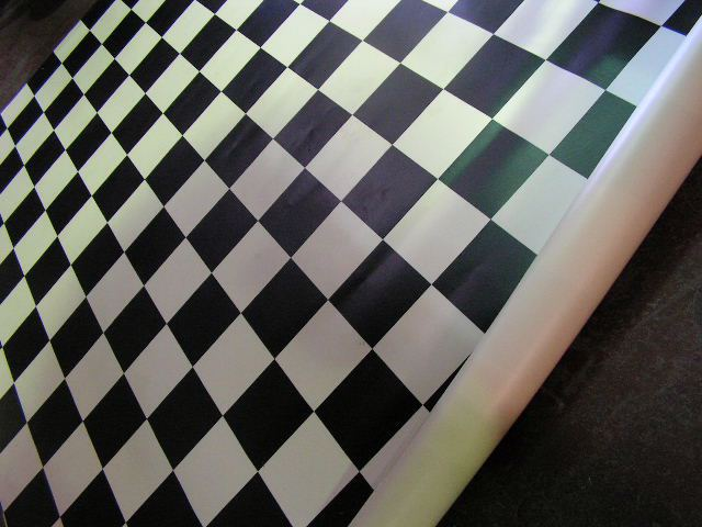 LINO, Black & White Check (Assorted Sizes) $30 - $37.50