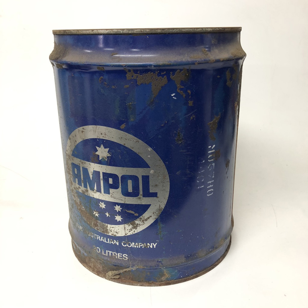 DRU0007 DRUM, Oil Drum - 20L Ampol $18.75