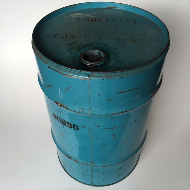 DRU0005 DRUM, Oil Drum - Blue 40L $18.75
