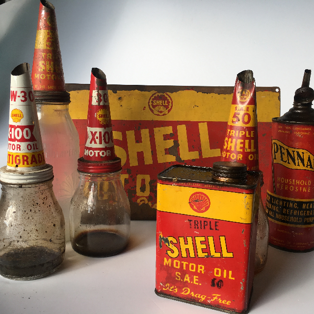 Oil & Signage - Shell Collection