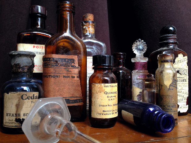 Harry Potter Theming - Bottles & Vials