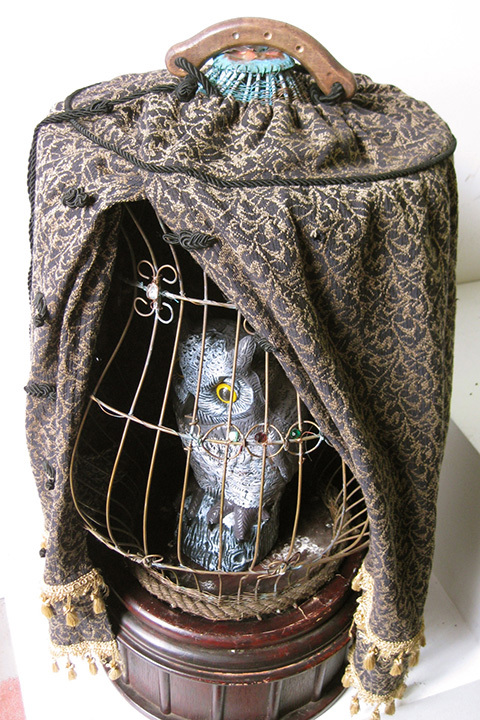 BIR0116 BIRDCAGE, Ornate - Large $37.50 (with optional cover)