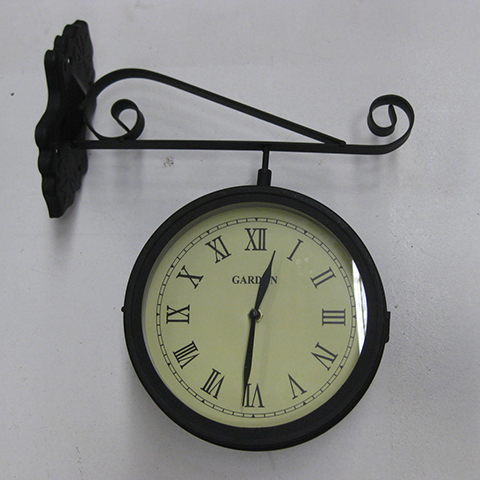 CLO0074 CLOCK, Station Clock (Wall Mount) $18.75