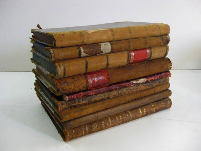 BOO0017 BOOK, Old Ledgers - Assorted $10