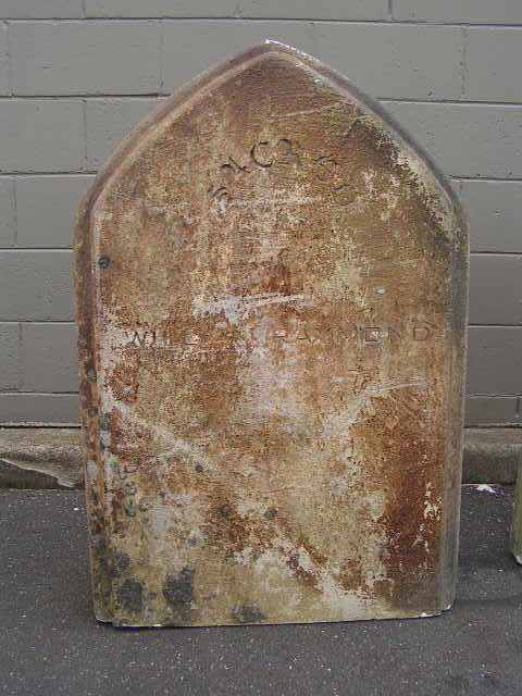 HEA0109 HEADSTONE, Large - Pointed Arch (75x100cm H) $75