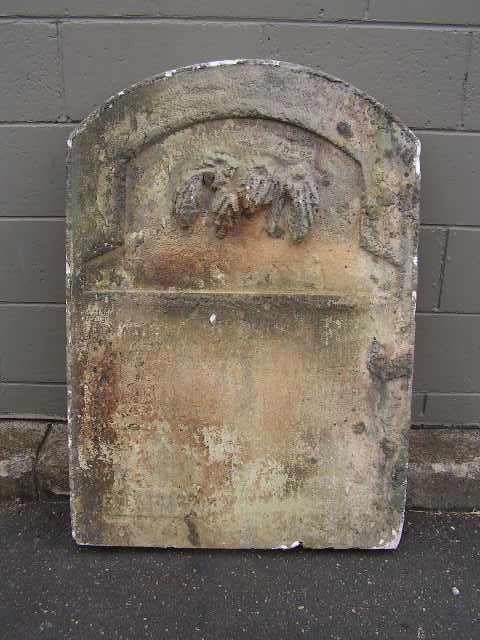 HEA0110 HEADSTONE, Large - Rounded Top (75x100cm H) $75