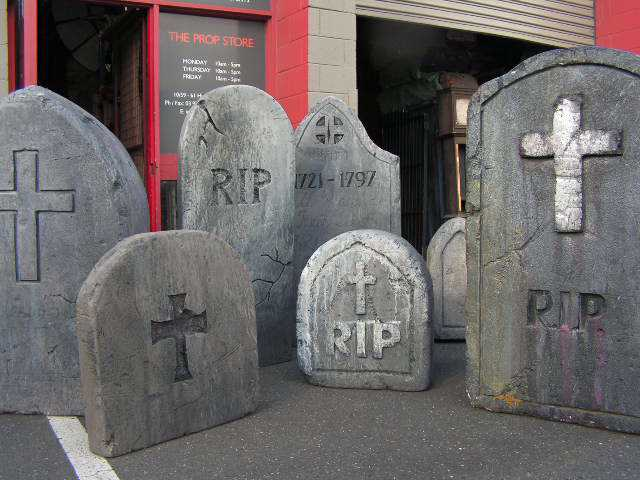 Group of Headstones