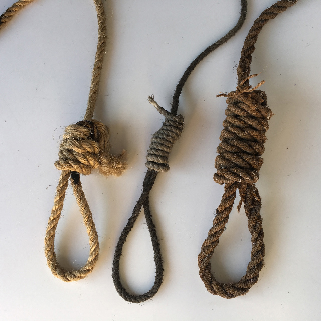 HAN0010 HANGMAN, Noose - Assorted $12.50