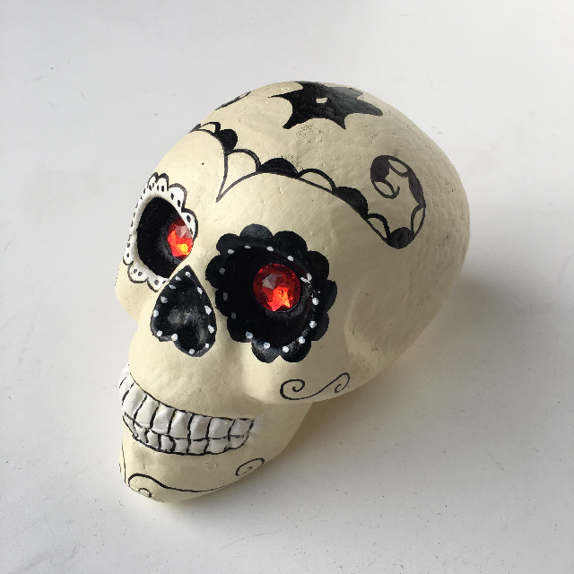 SKU0005 SKULL, Mexican Day of the Dead - Styrene $6.25