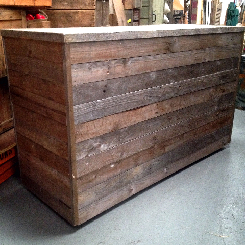 BAR0101 BAR, Rustic 1.1m High x 1.6m Wide x 60cm Deep $237.50