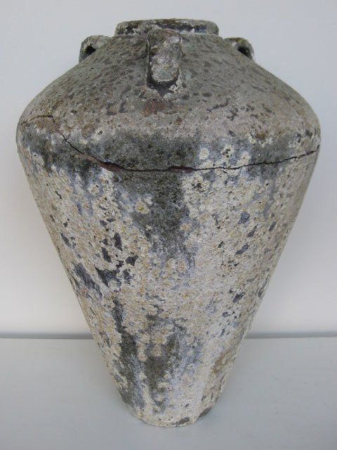 POT0104 POT / URN, Rustic Stone Look - Large (Tall) $37.5