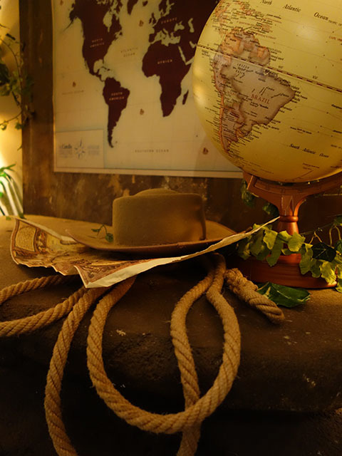 Event Styling - Indiana Jones Theme