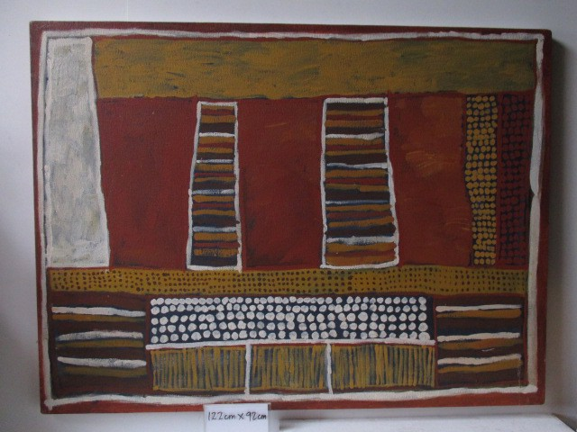 ART0366 ARTWORK, Aboriginal Large 1.2 x 92cm $37.50