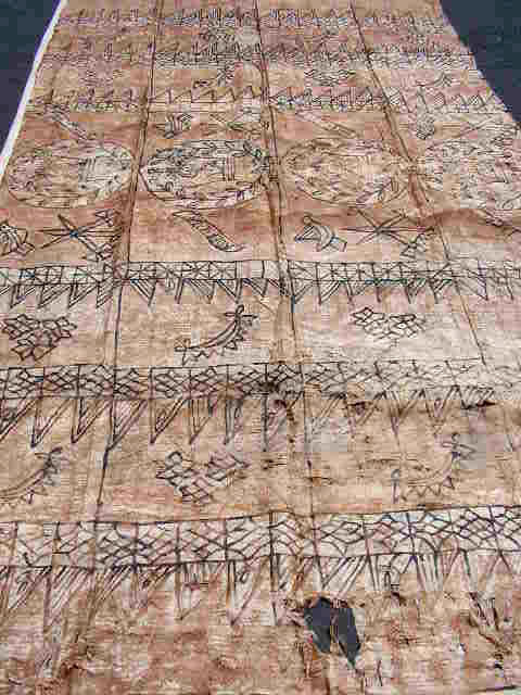 BAR0600 BARK PAINTING, Style 1 - 2m x 4m $30