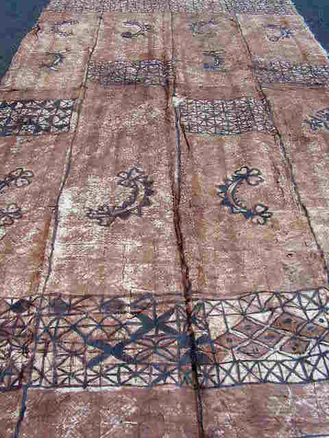 BAR0601 BARK PAINTING, Style 2 - 2m x 4.2m $30