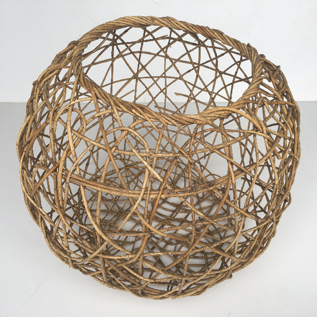 BAS0042 BASKET, Round Natural 50cm Dia $11.25