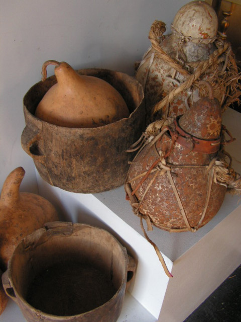 Assorted Gourds and Pots