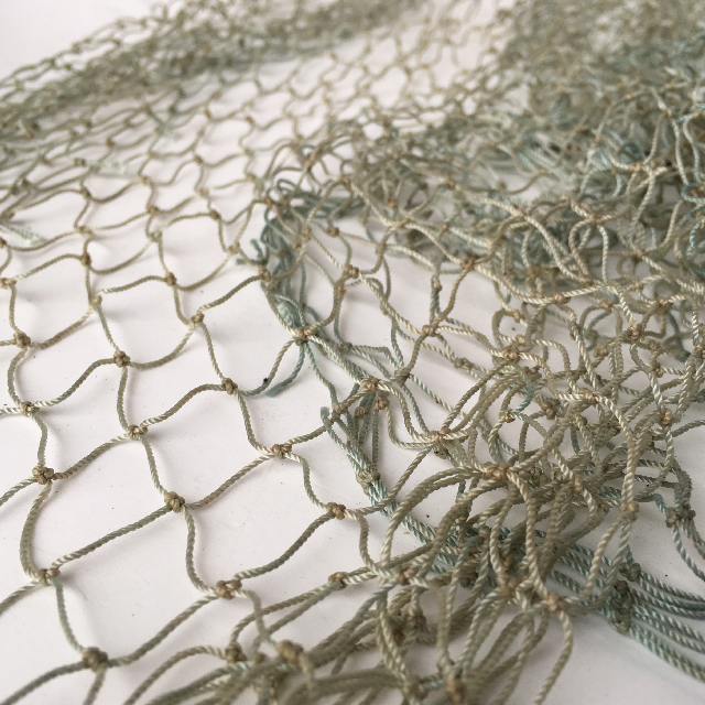 FIS0020 FISHING NET, Grey Green 50cm x 3m $12.50