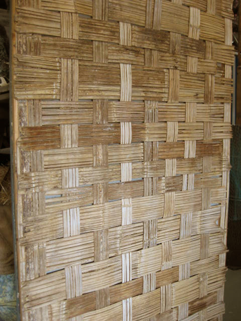 SCR0002 SCREEN, BAMBOO 1.2m x 2.4m (Woven) Not Freestanding $75