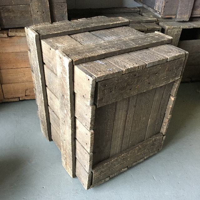 CRA0007 CRATE, Large - Assorted (58x57x46cm H) $22.50