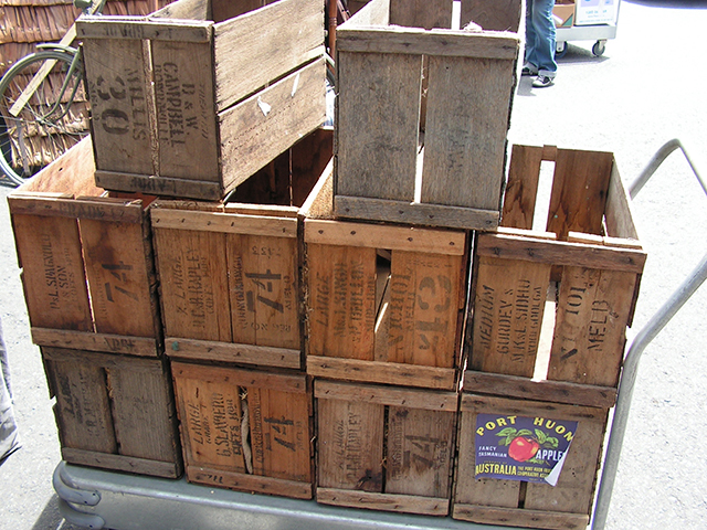CRA0013 CRATE, Small - Fruit Crate (50x26x30cm H) $12.50