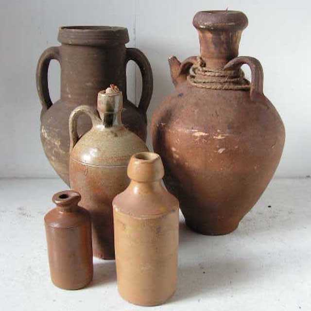 Assorted Stoneware