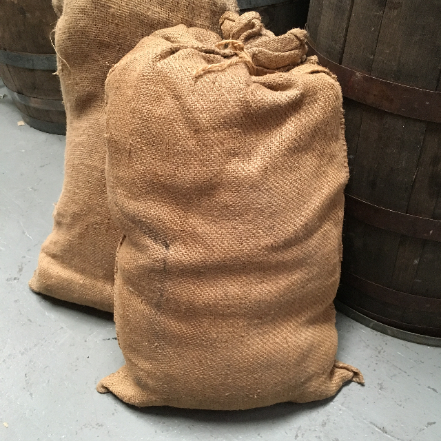 SAC0005 SACK, Hessian - Large $12.50