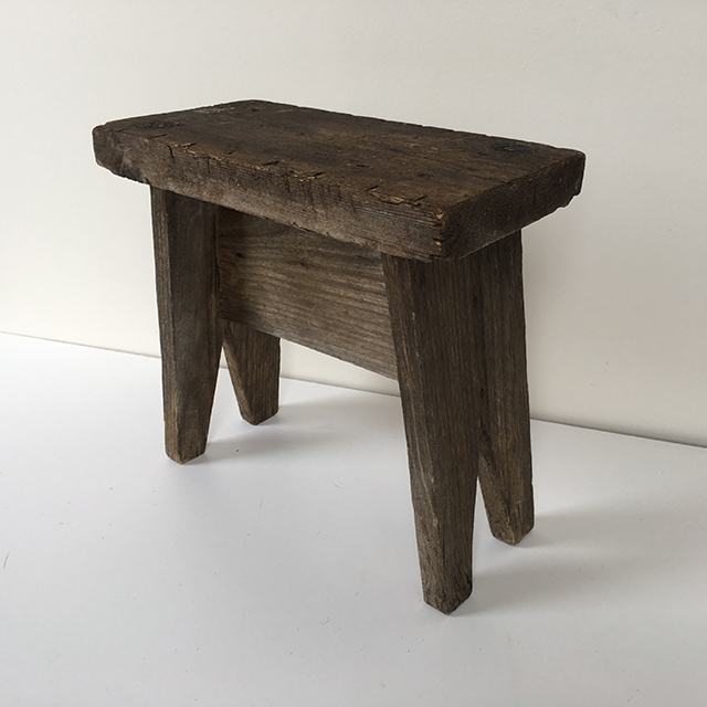 STO0313 STOOL, Rustic - Small (low height) $12.50