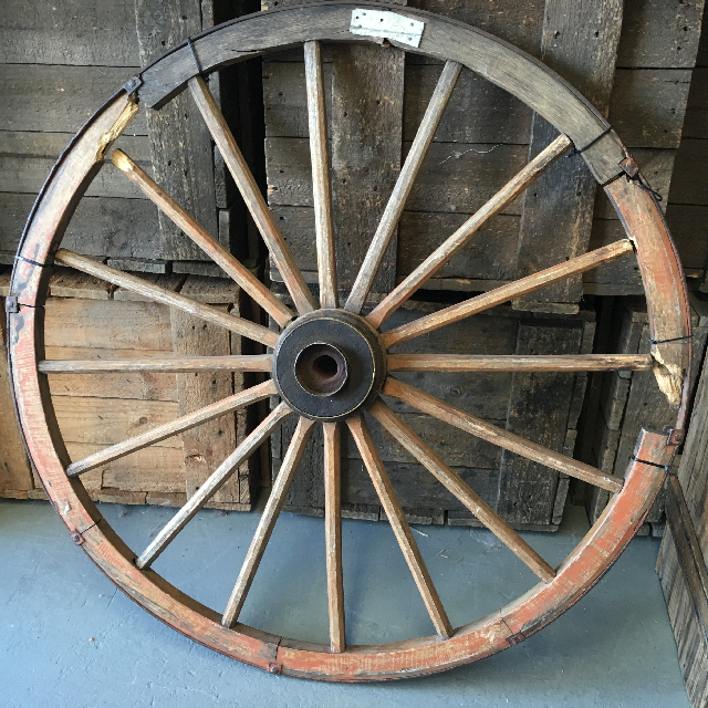 WAG0002 WAGON WHEEL, Original - Large 95cm Dia $37.50