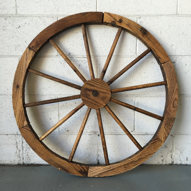 WAG0003 WAGON WHEEL, Medium 80cm Dia $18.75