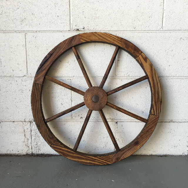 WAG0004 WAGON WHEEL, Small 55cm Dia $18.75