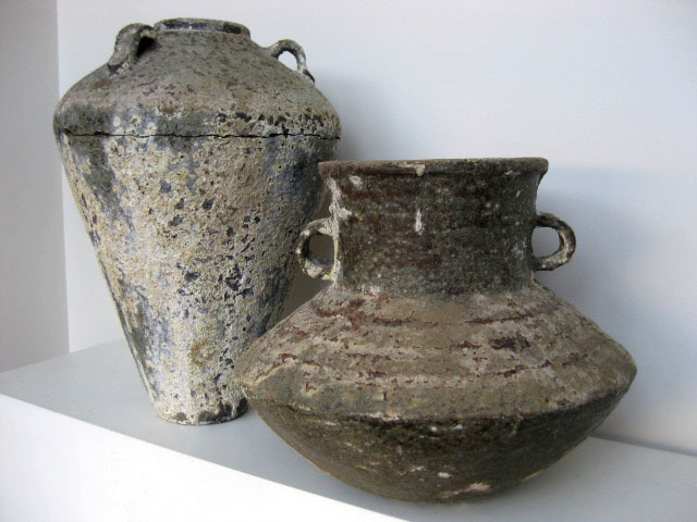 Ancient pots - Stone urns