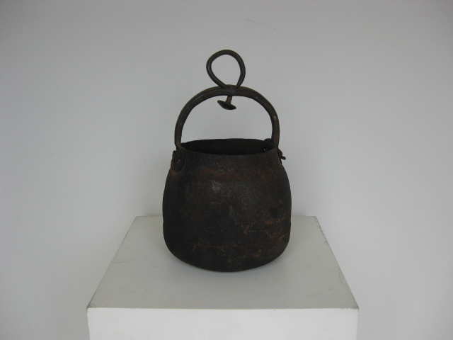 Artefact - Roman iron cooking pot
