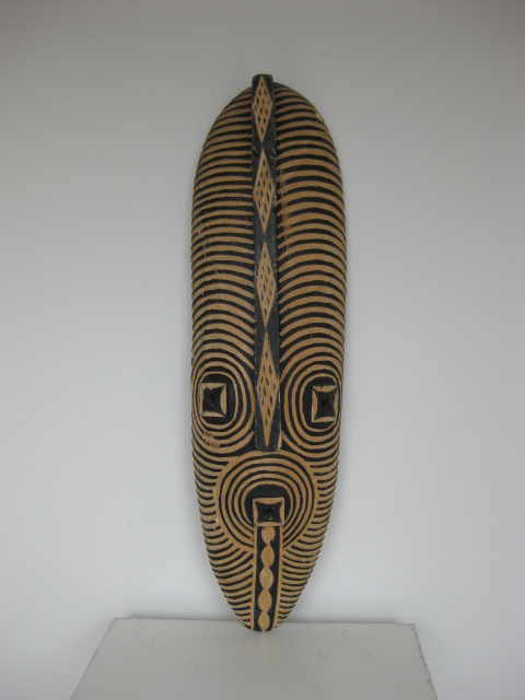 Artefact - carved Tribal mask (1)