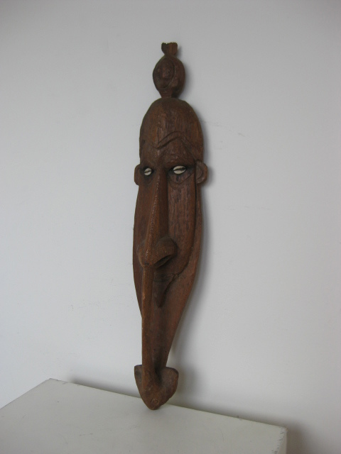 Artefact - carved Tribal mask (2)