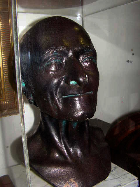 Bronze Bust  - old man