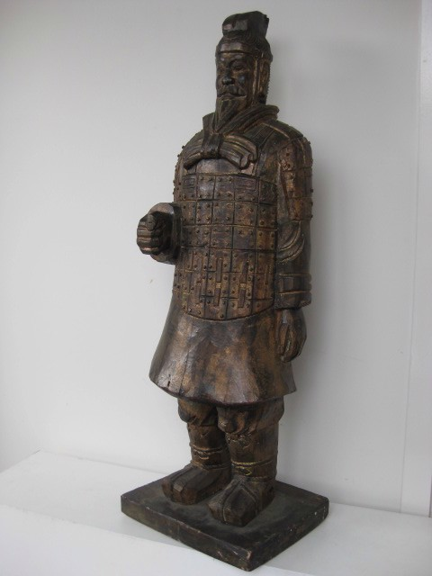 Chinese Warrior x 2, 1.1m high
