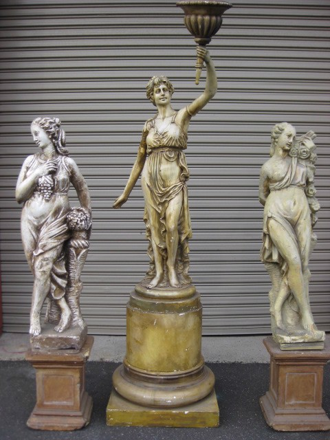 Statues - group