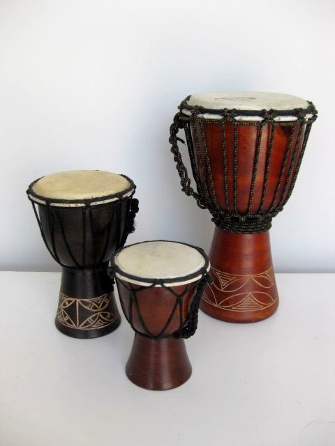 Tribal drums - small
