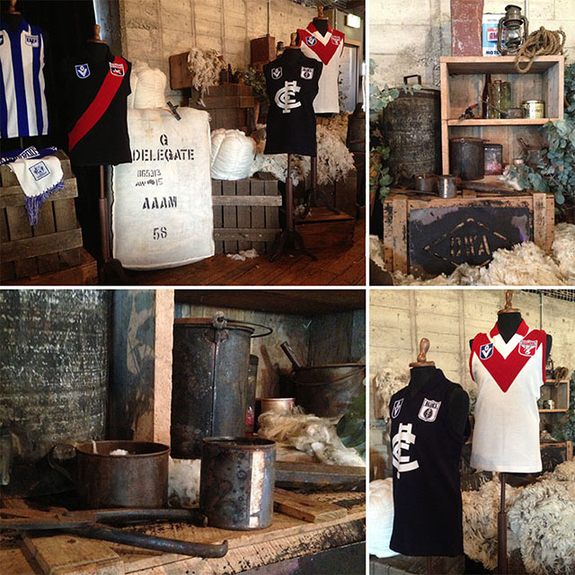 AFL Wool Theming
