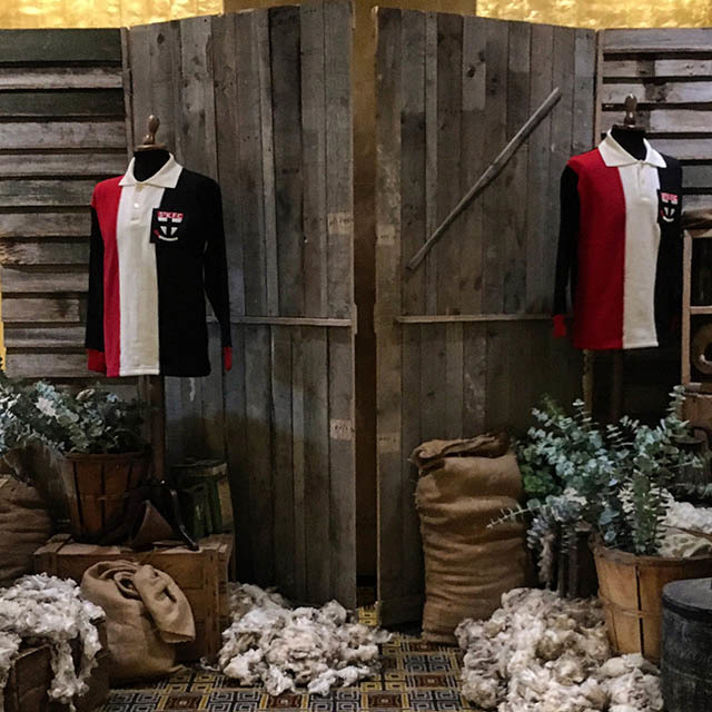 Outback Theming - Australian Woolshed - AFL Jumpers