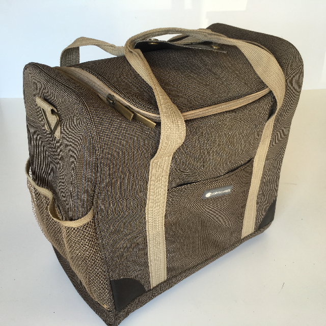 COO0103 COOLER, Brown Beige Canvas $7.50