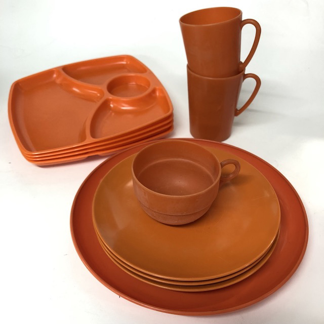 Picnicware - Orange Collection