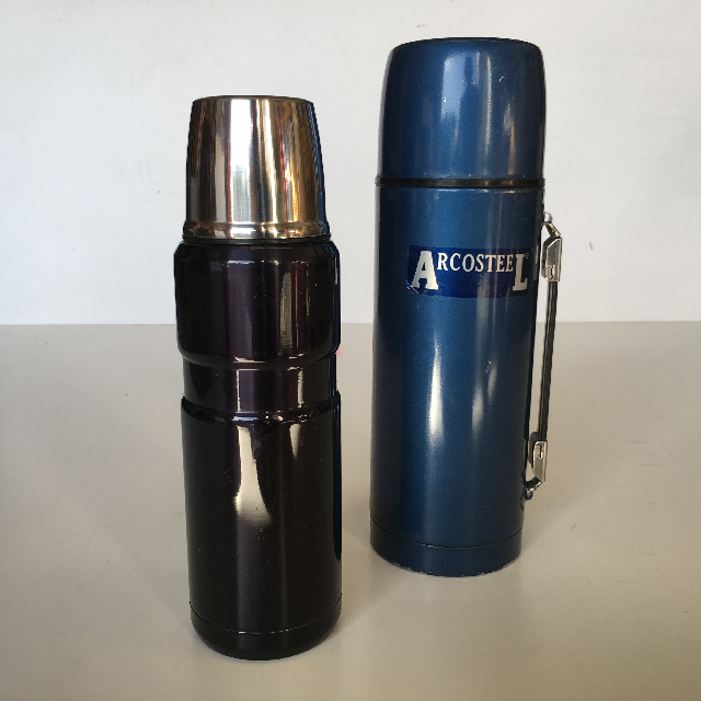 THE0003 THERMOS, Stainless Steel Contemporary $7.50