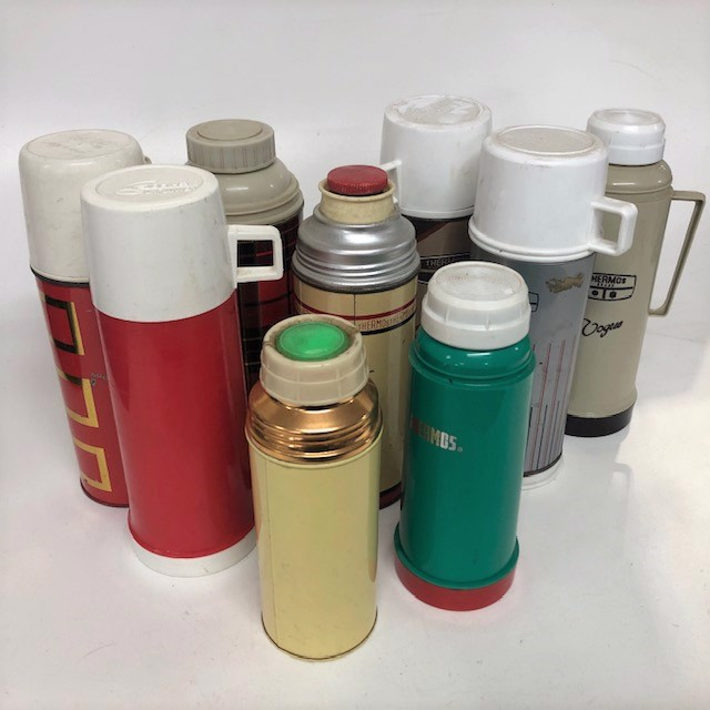 THE0007 THERMOS, Retro Assorted - Medium $5