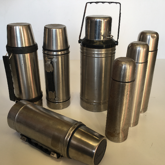 Stainless Steel Thermos (THE0010) Small $6.25 (THE0009) Medium $7.50 (THE0008) Large $8.75