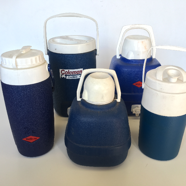 COO0107 COOLER, Water - Blue & White 2L-5L Assorted $6.25